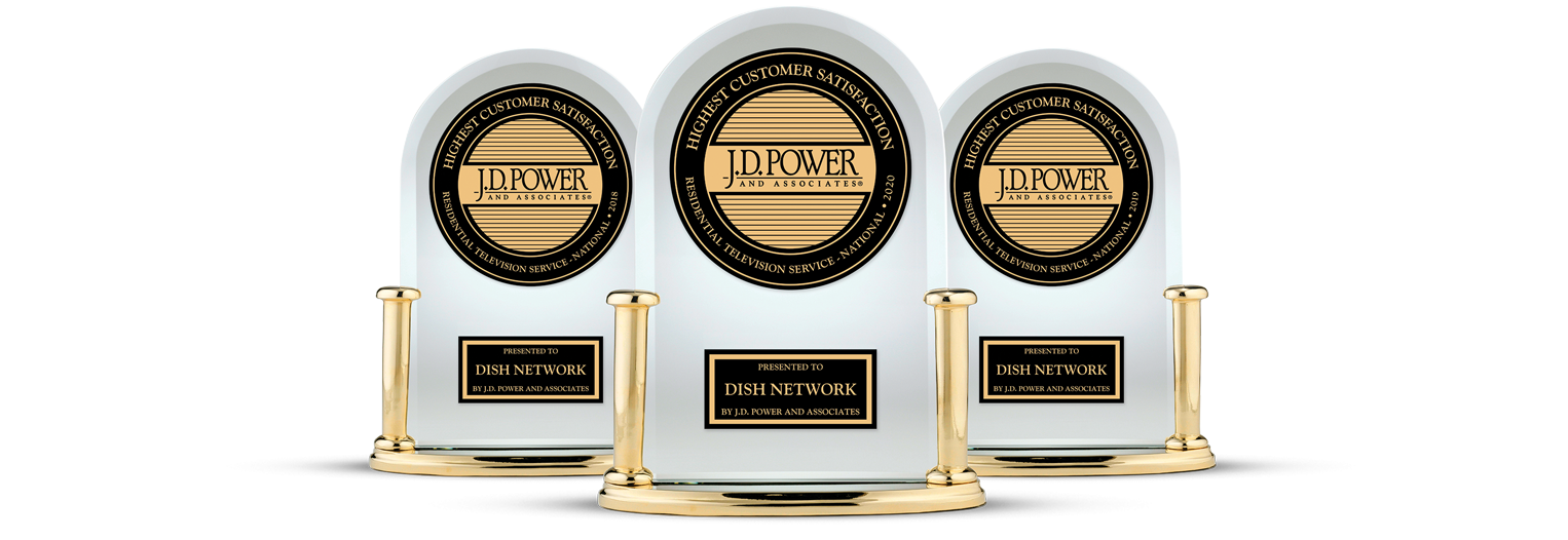 DISH Customer Satisfaction - Ranked #1 by JD Power - Wood's TV in Mount Airy, North Carolina - DISH Authorized Retailer